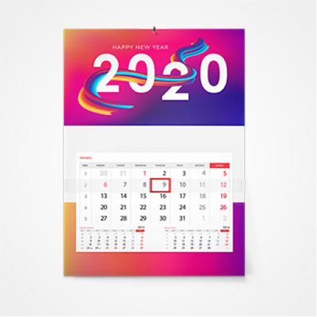 Дизайн календарей в Владивостоке